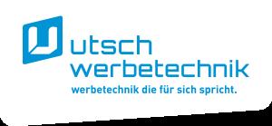 Logo Utsch Werbetechnik