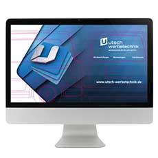 Grafikabteilung bei UTSCH Werbetechnik in Siegen