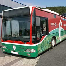 Nutzfahrzeuge, LKW beschriften in Siegen bei UTSCH Werbetechnik