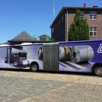Linienbusbeschriftung in XXL
