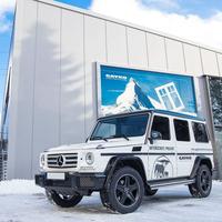 Fahrzeuge als Werbefläche für soziale Projekte