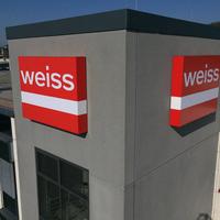 LED Spanntuchleuchtkasten für die Firma Weiss