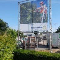 Freistehendes Banner