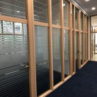 Sichtschutzbeklebung für Büroräume