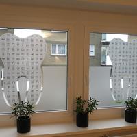 Sichtschutzfolie in Milchglasoptik