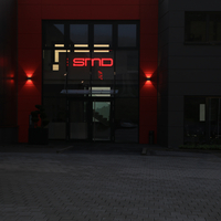 Ausgeleuchtete LED Profilbuchstaben
