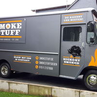 Food Truck Car Wrapping