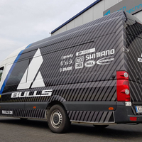 VW Crafter Car-Wrapping