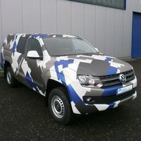Camouflage-Design mit matter, teilw. gebürsteter Optik
