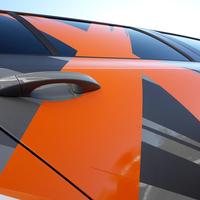 Octavia RS Profi-Werbefolierung